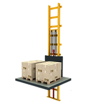 1 Ton Hidrolik Asansör