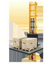 10 Ton Hidrolik Asansör