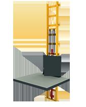 500 Kg Hidrolik Asansör